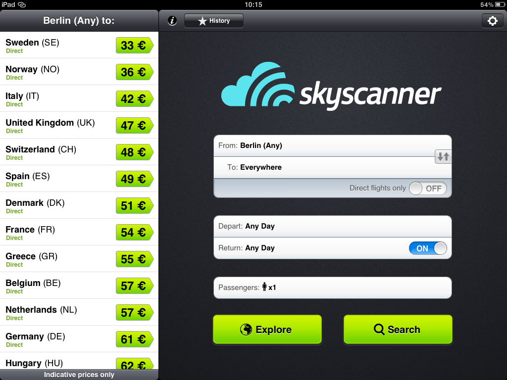 skyscanner-flight-comparor