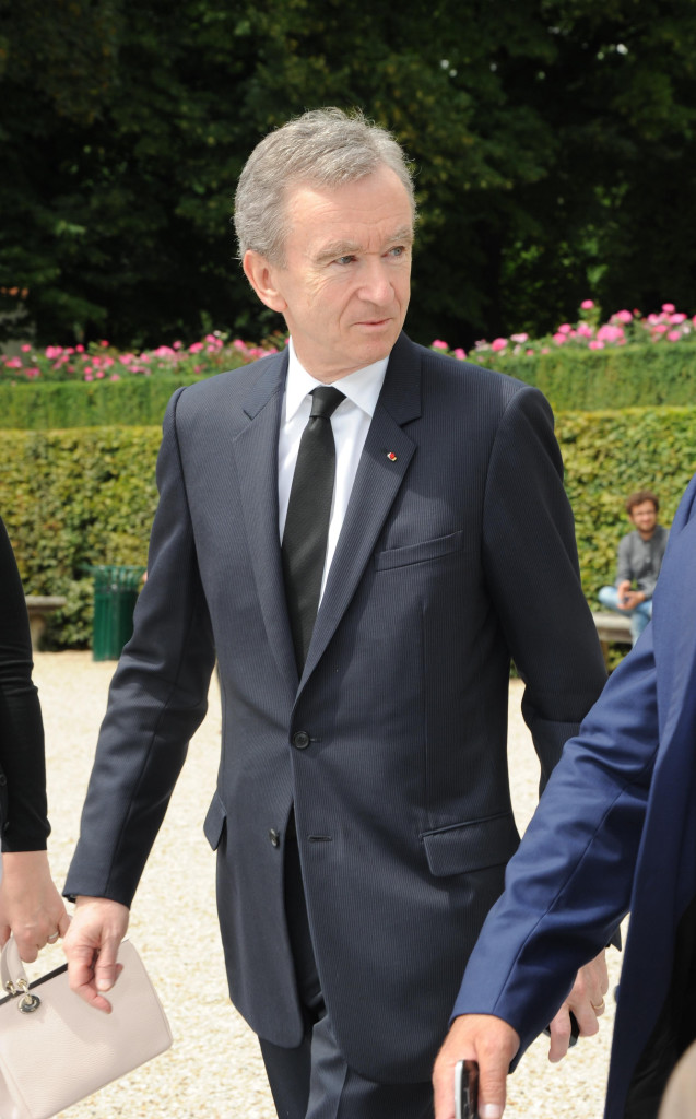 Bernard Arnault - Christian Dior: Arrivals - Paris Fashion Week : Haute-Couture Fall/Winter 2014-2015