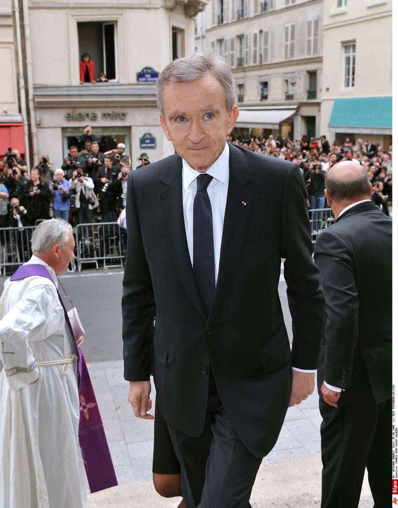 Bernard Arnault -  YVES SAINT LAURENT