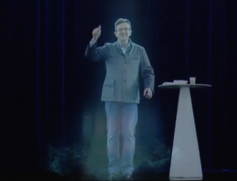 Jean-Luc Melenchon Uses Digital Media to Become Most Discussed Candidate